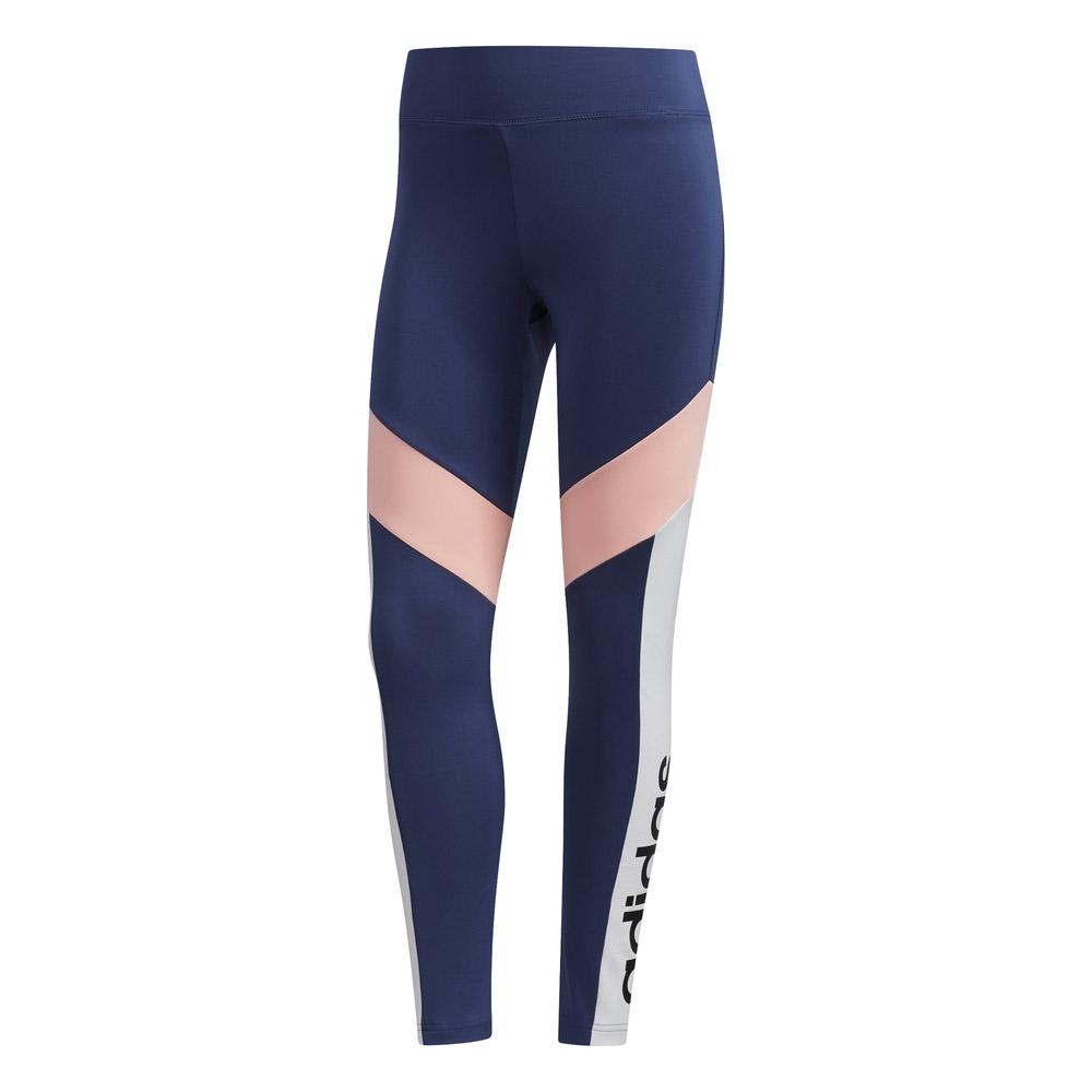 adidas D2M tight dames marine/roze
