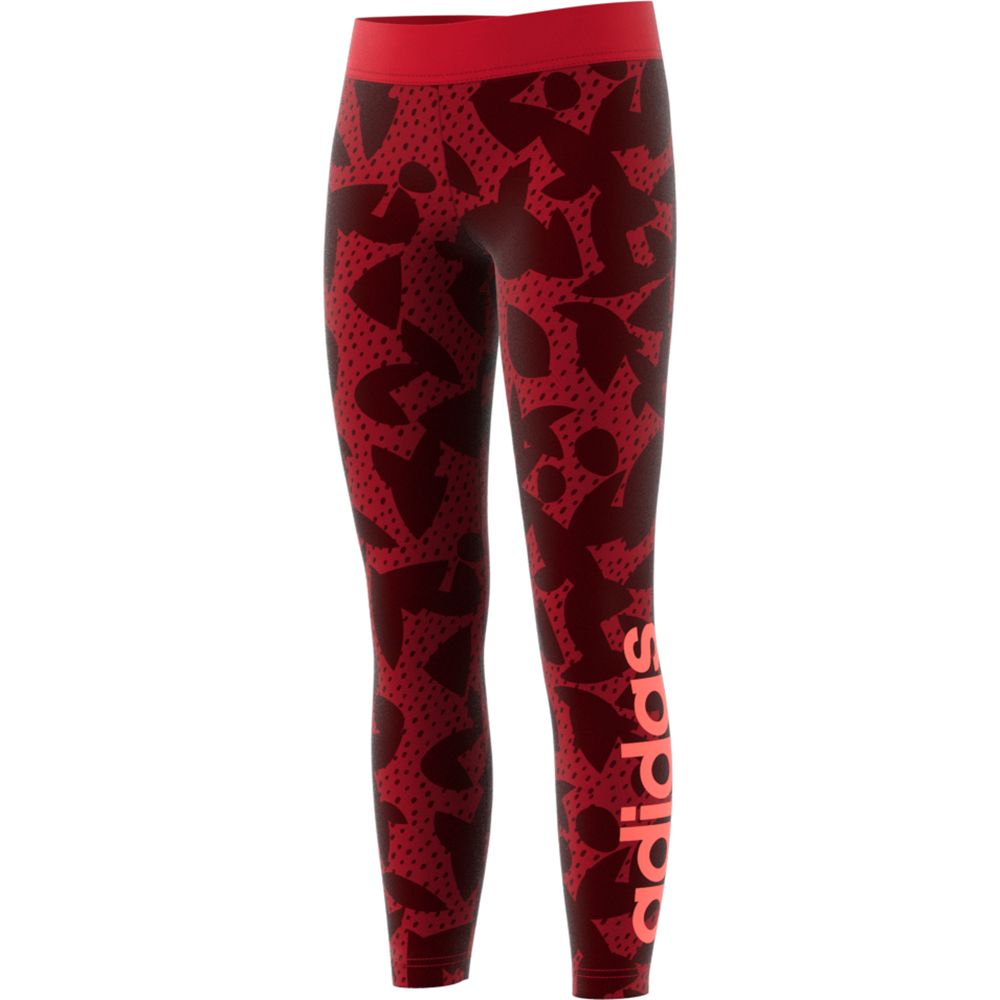 adidas XPR tight lang meisjes rood