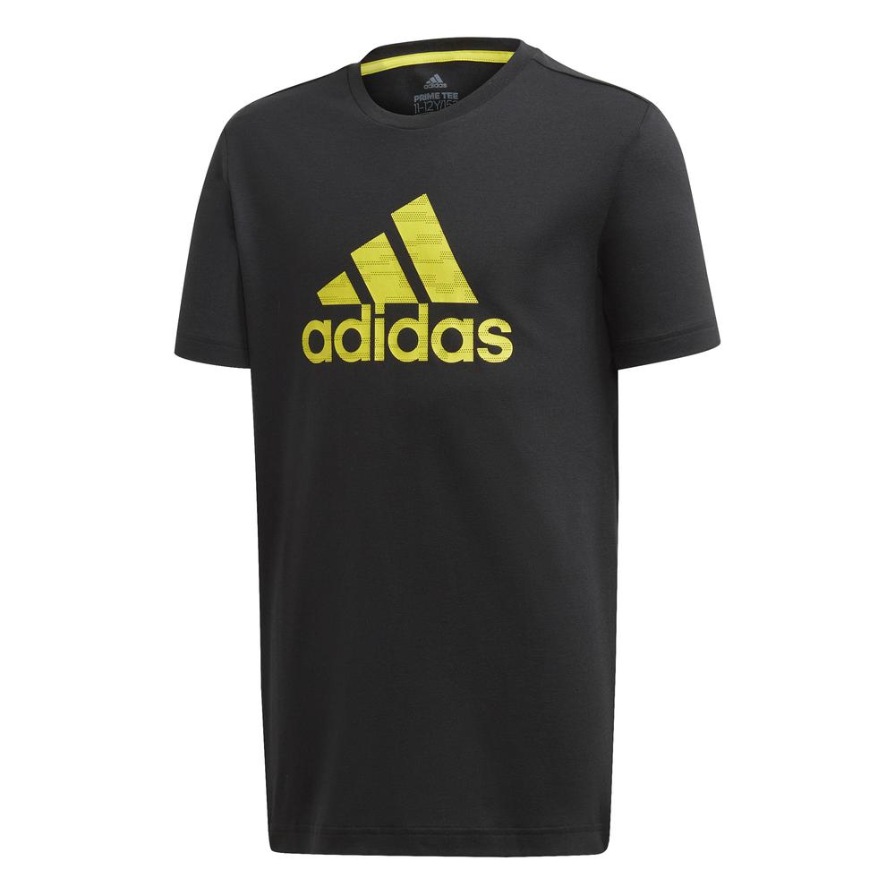 adidas Prime shirt jongens zwart/geel