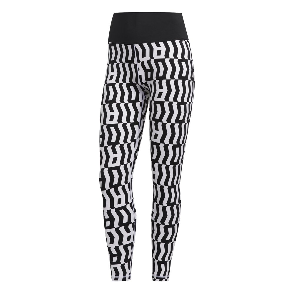 adidas Believe This TKO 7/8 tight dames wit/zwart