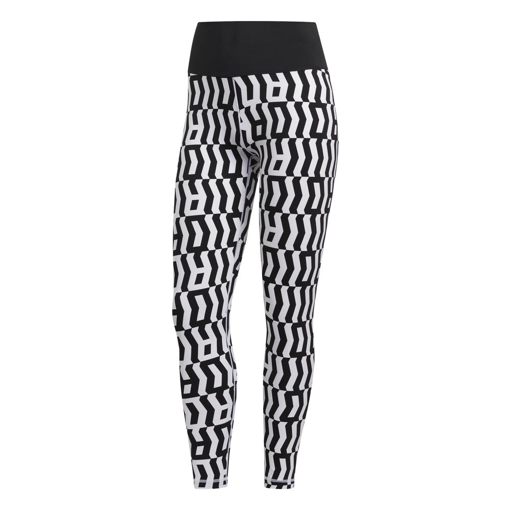 adidas Believe This TKO 7/8 tight dames wit/zwart