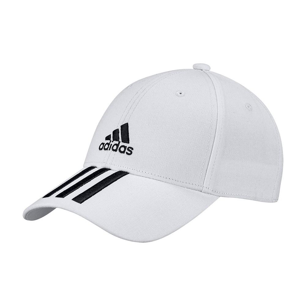 adidas Bball S3 cap wit/zwart