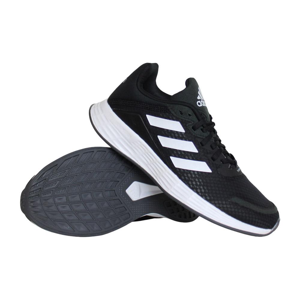 adidas Duramo SL hardloopschoenen jongens zwart/wit