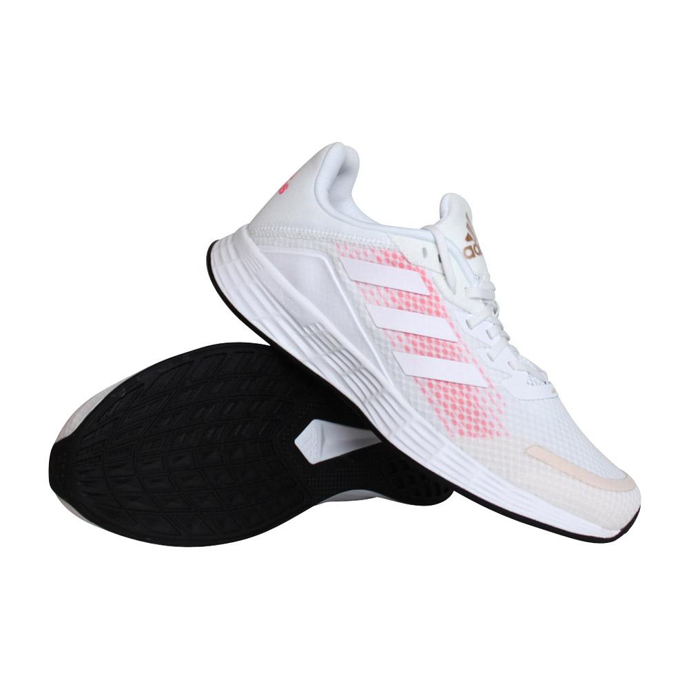 adidas Duramo SL hardloopschoenen dames wit/roze