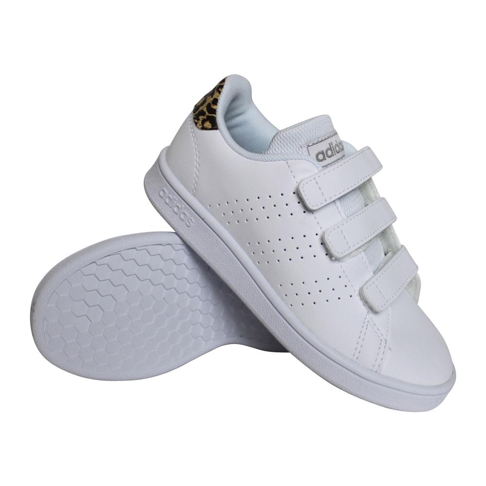 adidas Advantage C sneakers meisjes wit