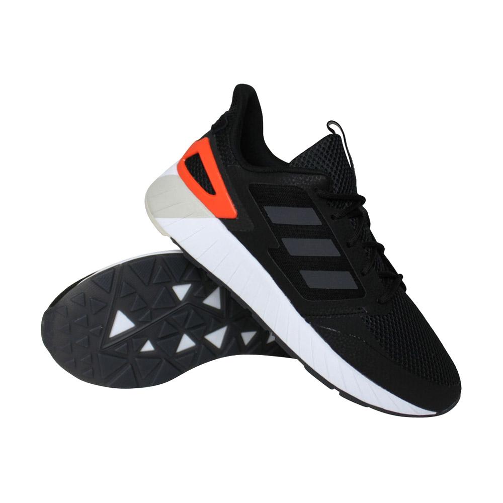 adidas Questar Strike sneakers heren zwart/oranje