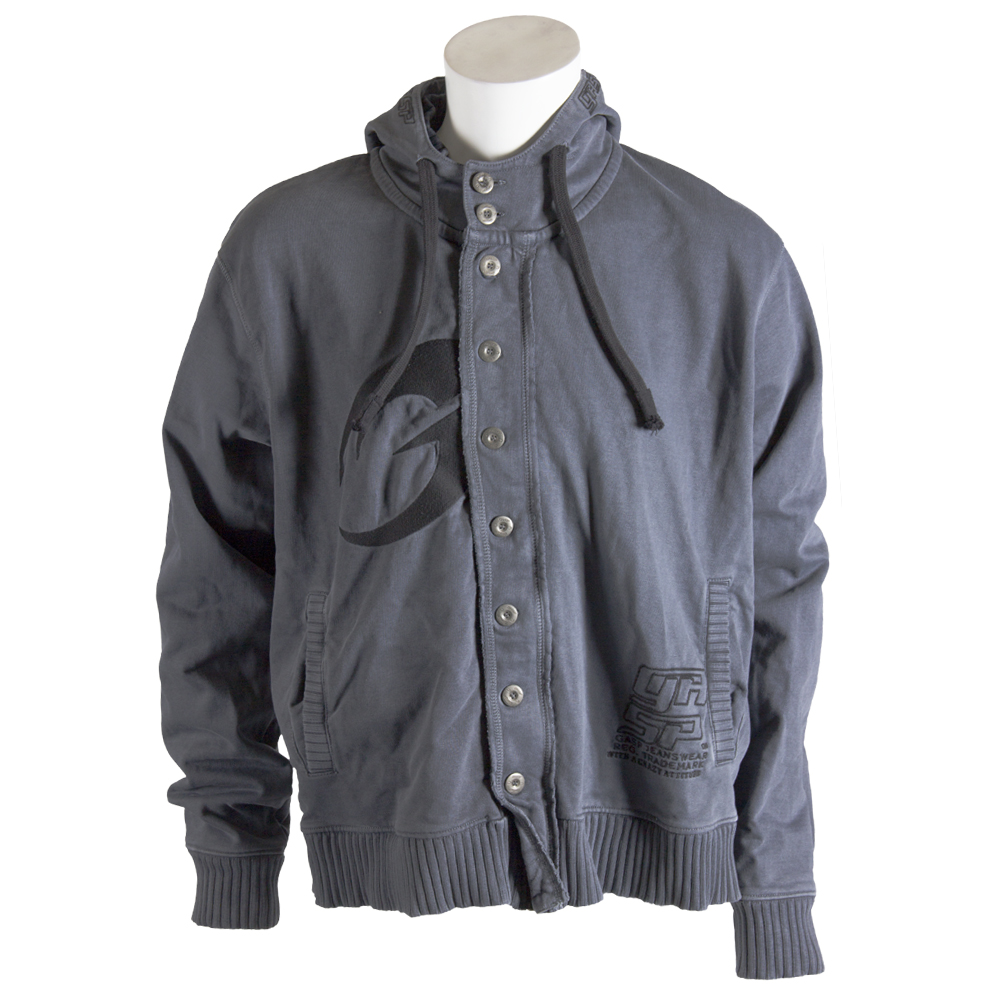 GASP  Cargo hood jacket metal - M