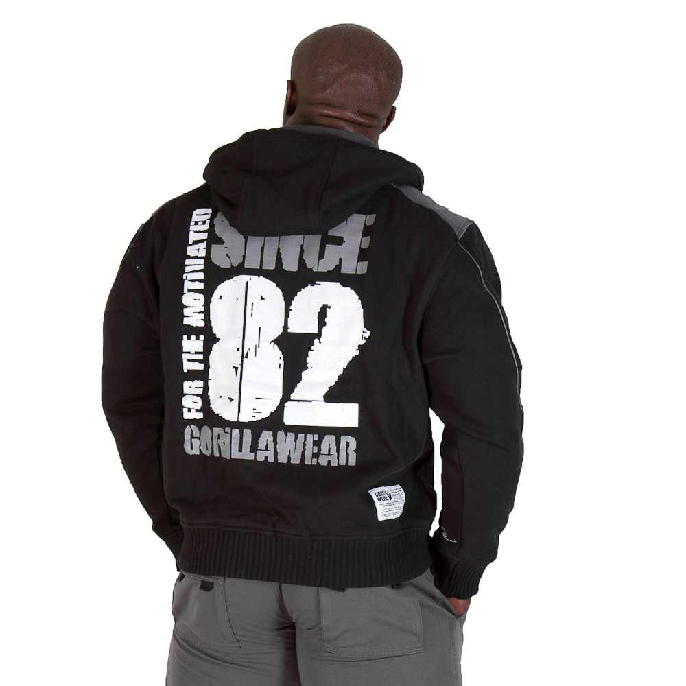 Gorilla Wear 82 Jacket Black - XXXL
