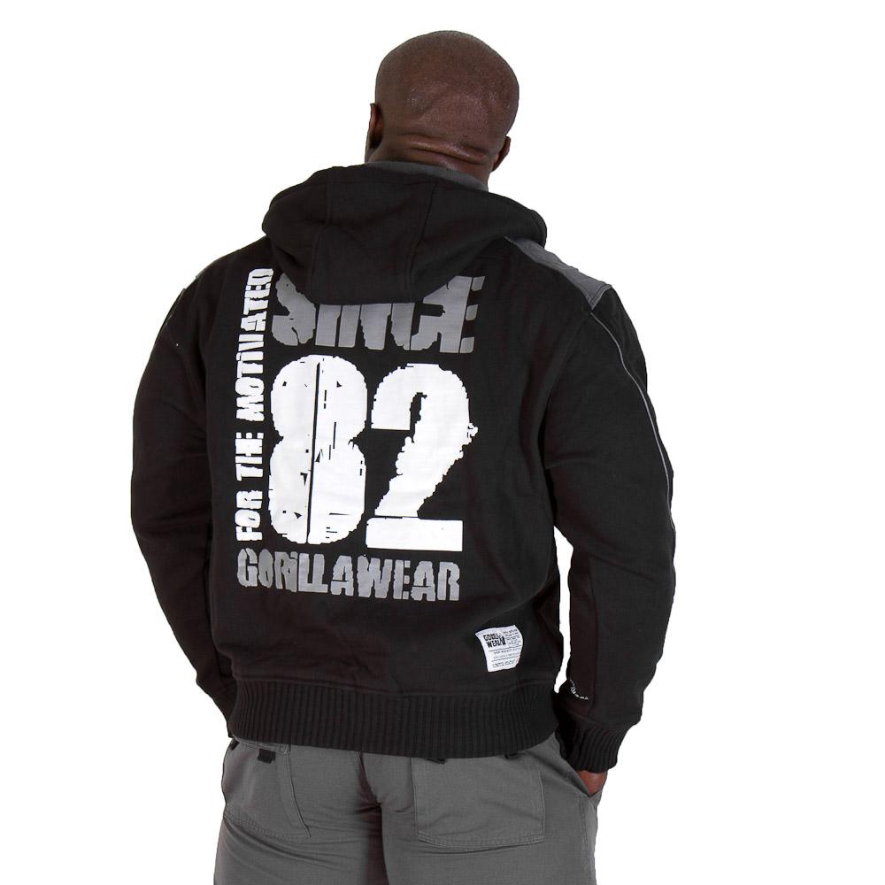Gorilla Wear 82 Jacket Black - XXXL