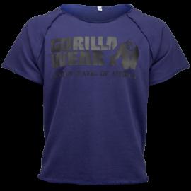 Gorilla Wear Classic Work Out Top - Marineblauw - S/M