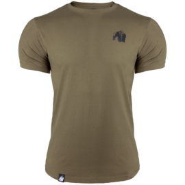 Gorilla Wear Detroit T-Shirt - Legergroen - 2XL