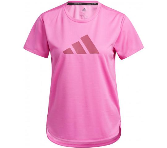 adidas BOS logo shirt dames roze