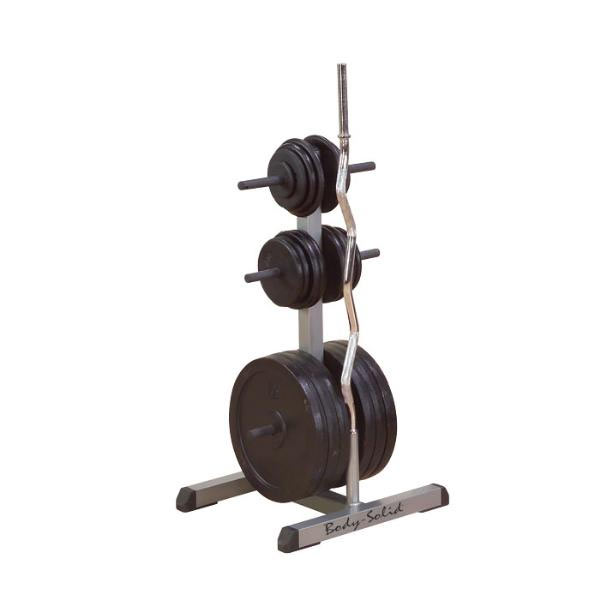 Body Solid  standard plate tree & bar holder