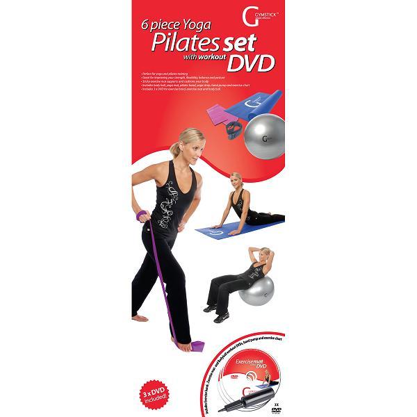Gymstick  6-delige pilates set met DVD