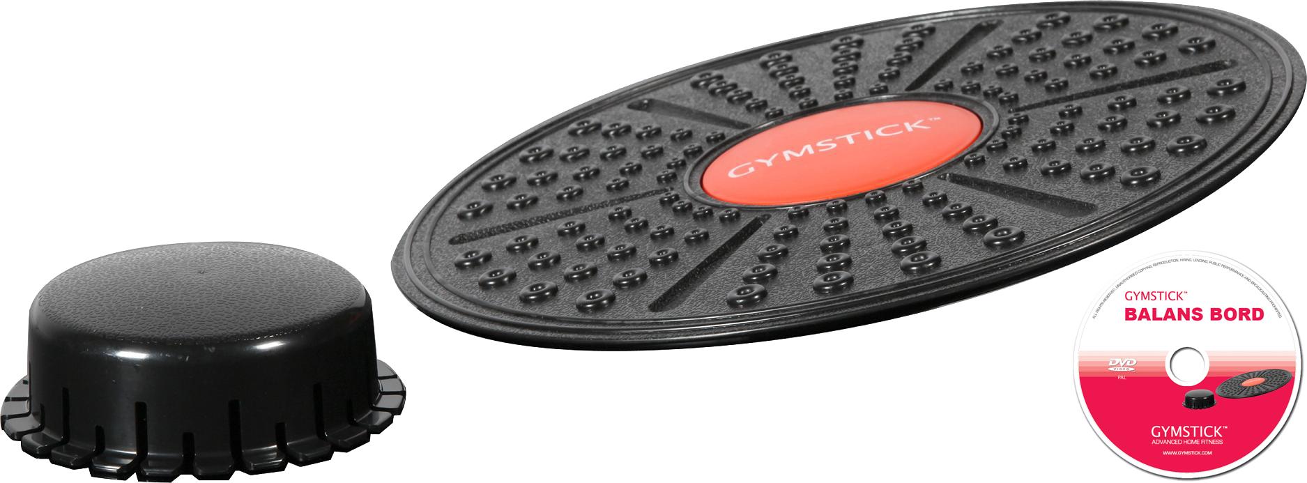 Gymstick balans bord met verstelbare hoogte + DVD