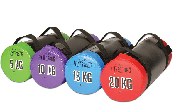 Gymstick Fitnessbag (incl. DVD) - Groen