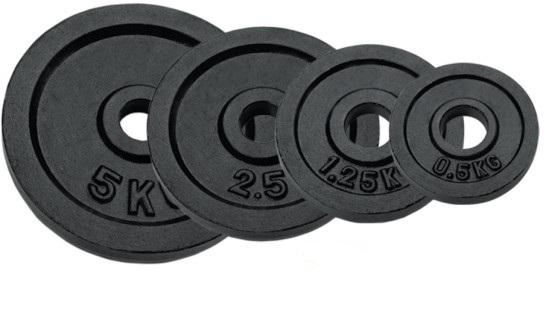 Halterschijven RS 2 x 0,5 kg (2 stuks)