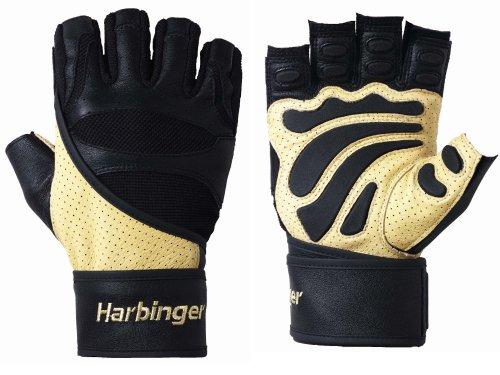 Harbinger Fitness Harbinger 1205 Big Grip Wristwrap gloves-S