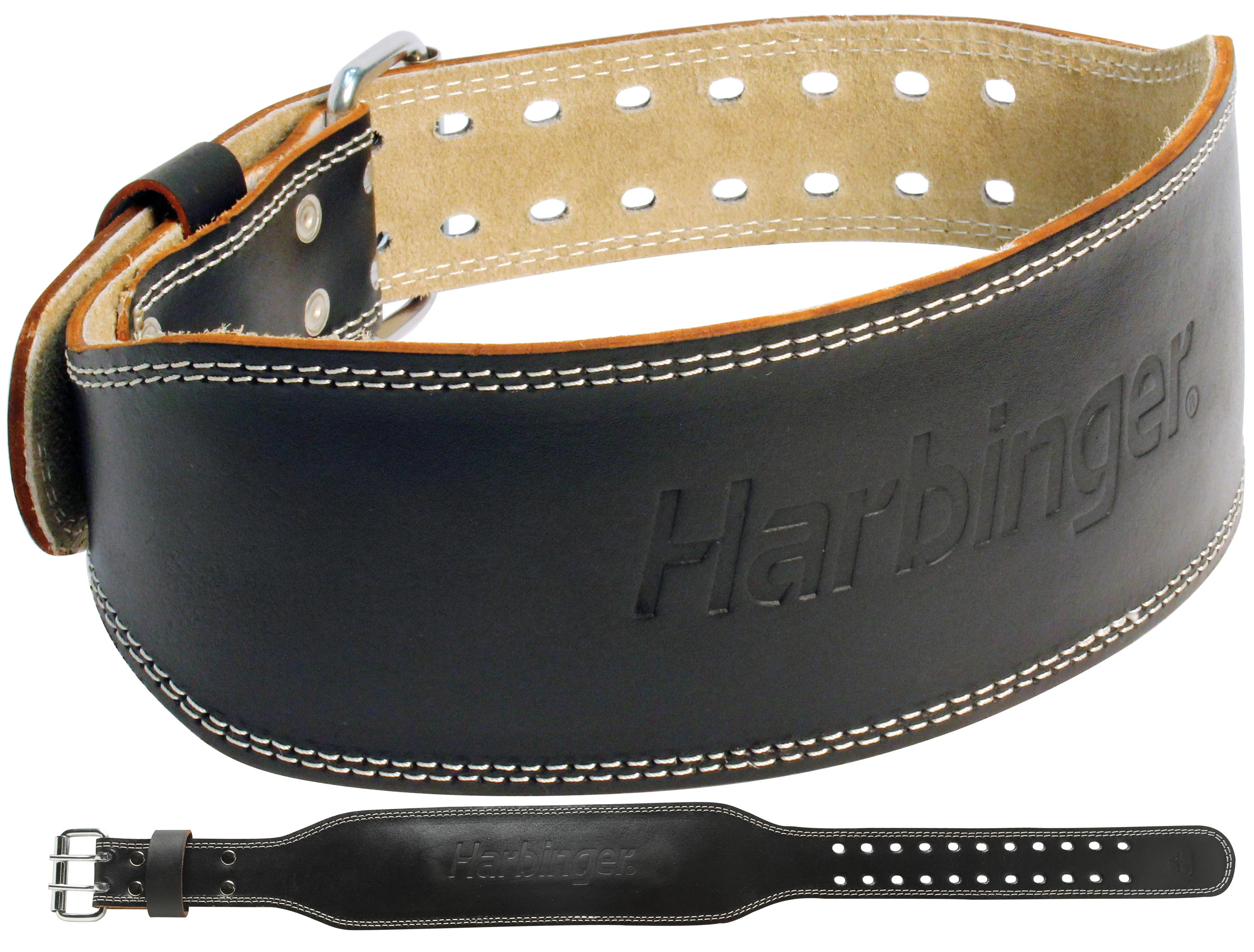 Harbinger Fitness Harbinger 4 Inch Padded Leather Belt - S