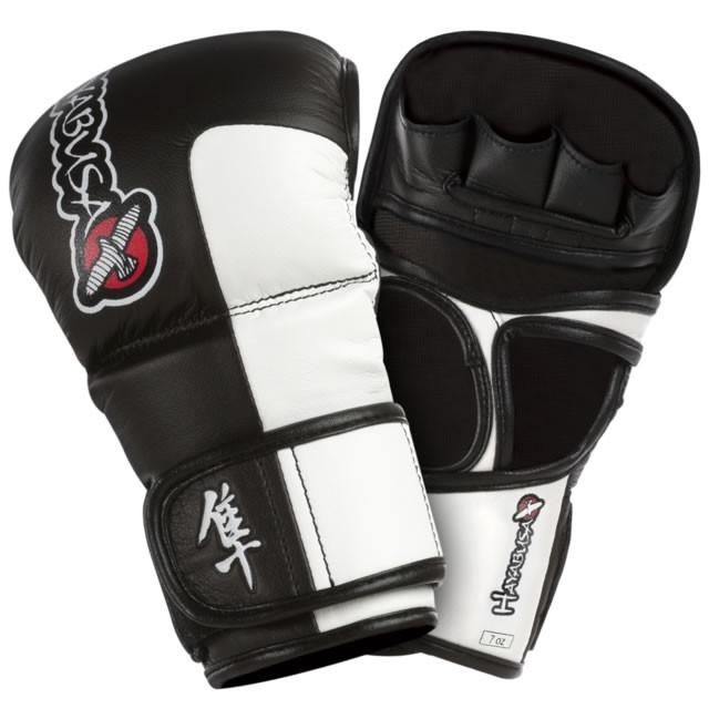 Hayabusa Tokushu Hybride MMA Handschoen - Zwart