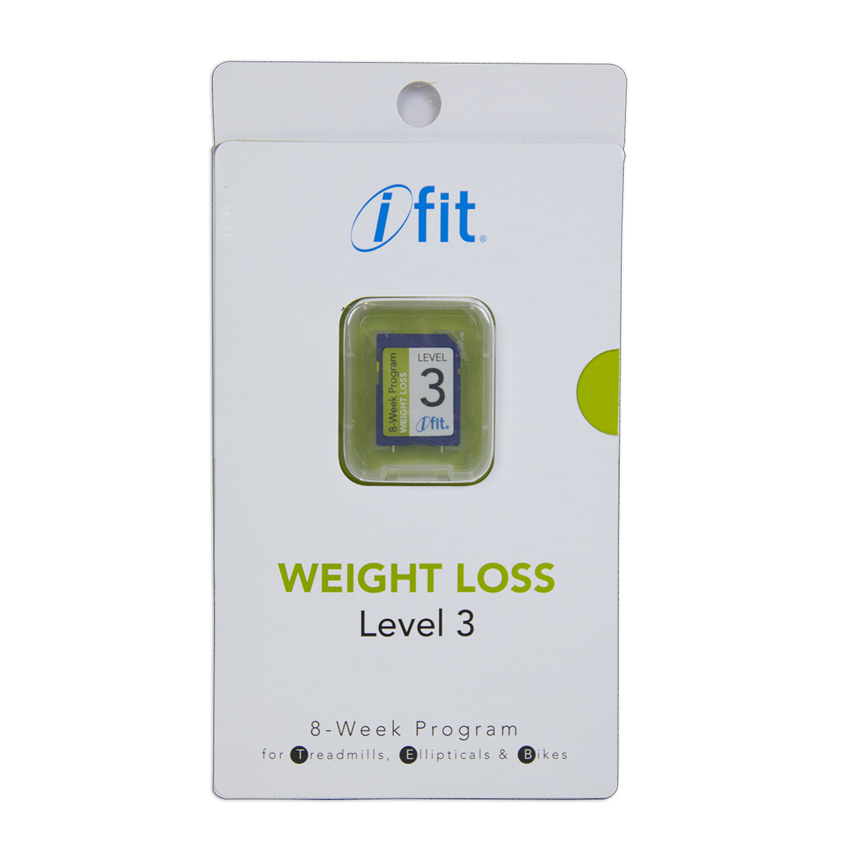 iFit kaart - Weight Loss 3