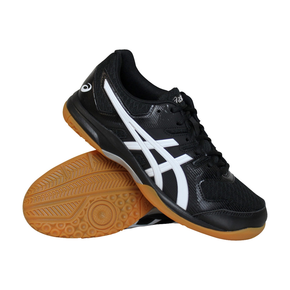 Asics Gel-Rocket 9 indoorschoenen heren zwart/wit