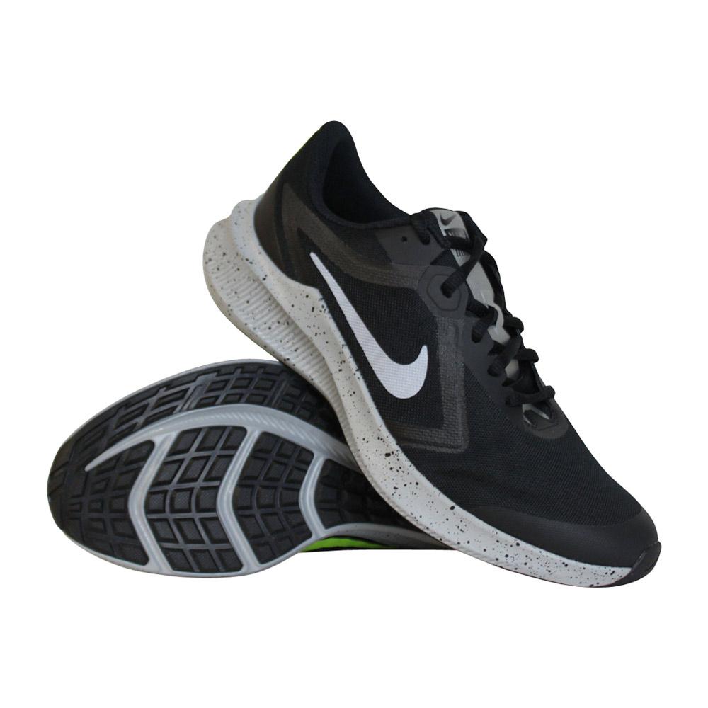 Nike Downshifter 10 hardloopschoenen jongens zwart/wit