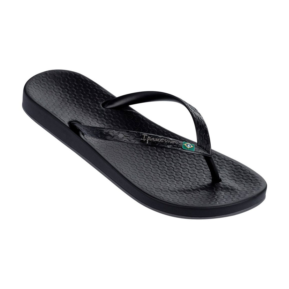 Ipanema Anatomic Brilliant teenslippers dames zwart