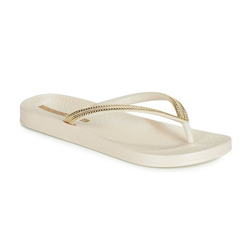 Ipanema Anatomic Mesh teenslippers dames beige/goud