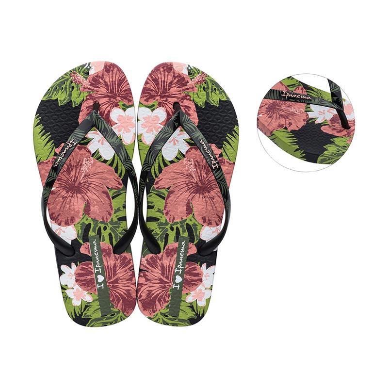 Ipanema I Love Sun teenslippers dames zwart/roze