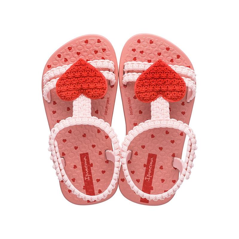 Ipanema My First sandalen meisjes roze/rood