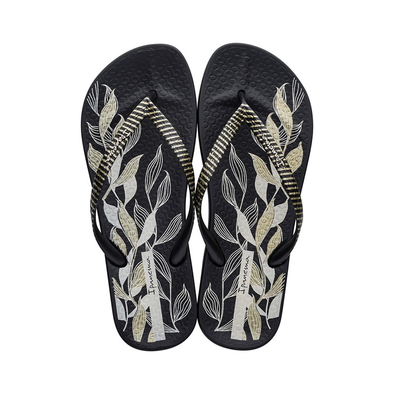 Ipanema Anatomic Nature teenslippers dames zwart/beige