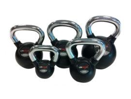 Crossmaxx Rubber Kettlebell 4-28 kg