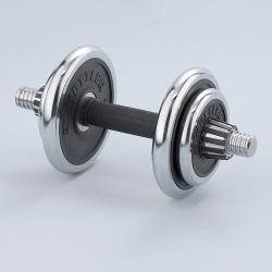 Kettler Halterset Chroom-Rubber 10 kg