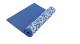 Yoga mat blauw met print RS Sports