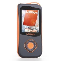 Lenco MP4 Speler met Stappenteller Podo-151