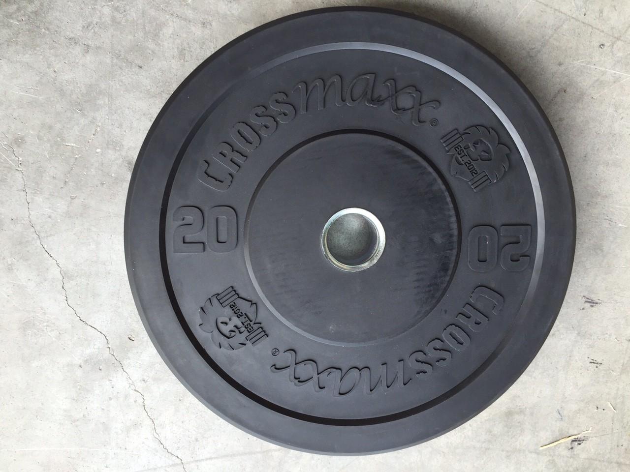 Crossmaxx Bumper plate per stuk - 50 mm (5-25 kg)