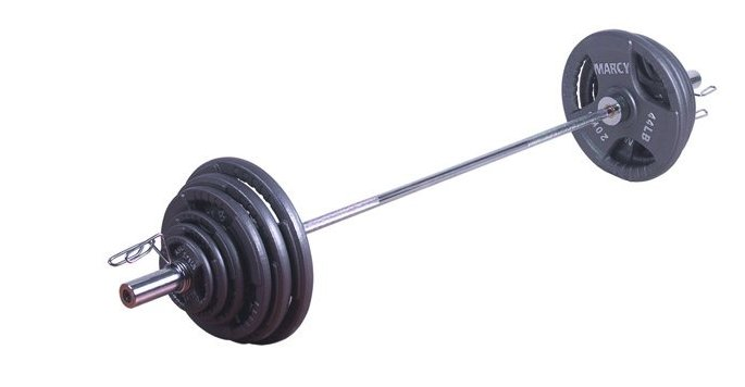 Marcy  140 kg Olympische Tri-Grip Barbell Set