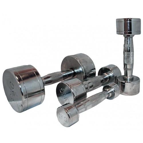 Marcy  Chrome Dumbells - 3 kg