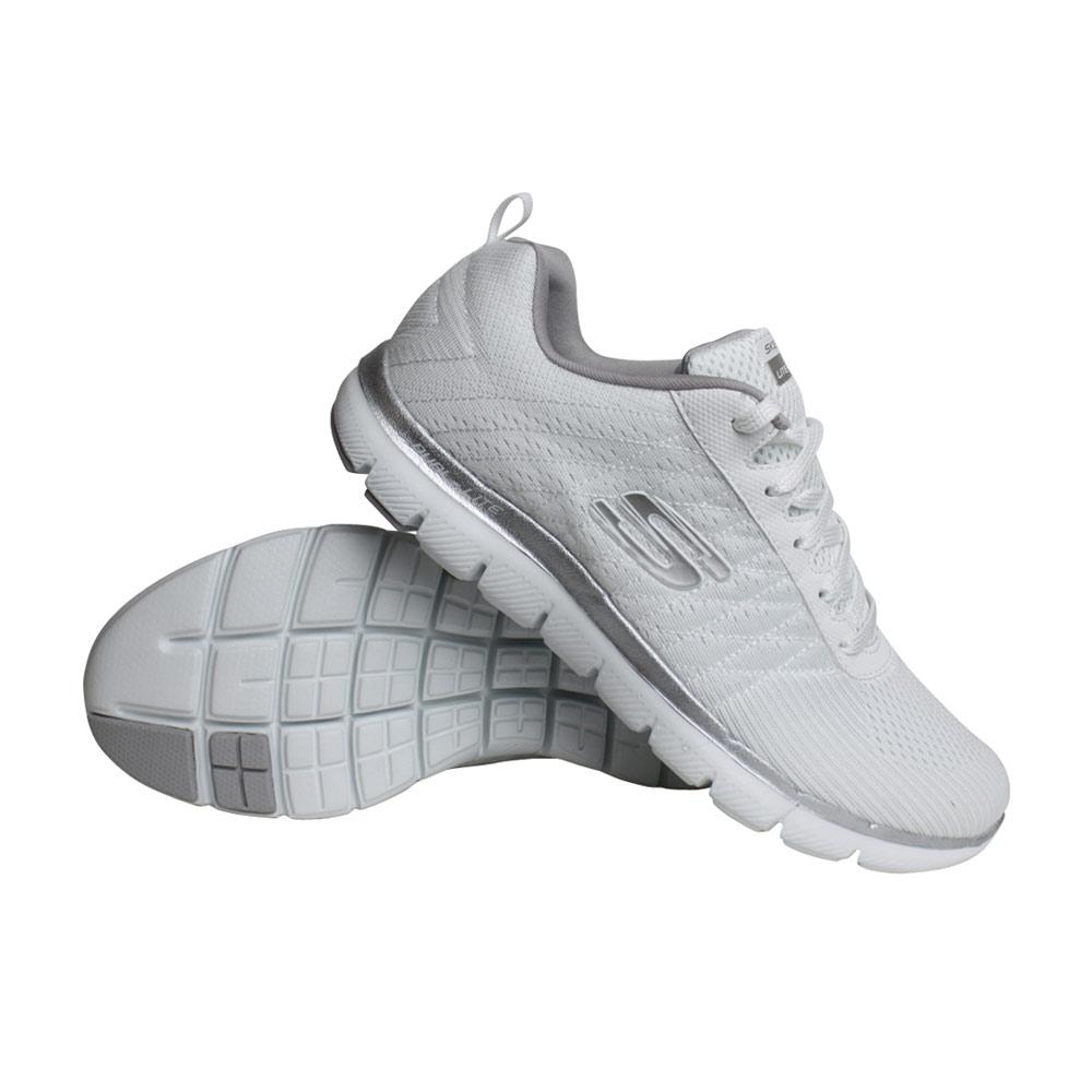 Skechers Flex Appeal 2.0 sneakers dames wit