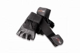 Fitness handschoenen met polsbanden S