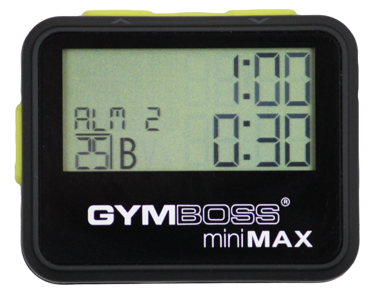 Gymboss Max interval timer (zwart)