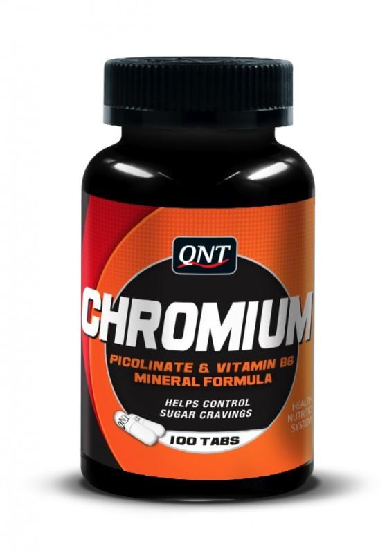 QNT  Chromium 200 mcg - 100 caps