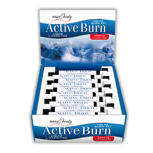 QNT  - Easy Body Active Burn Ampoules (L-carnitine 2000mg) - 20 ampullen