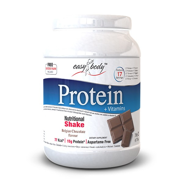 QNT - Easy Body Diet Protein Powder - 350 gram - Chocolate Coconut