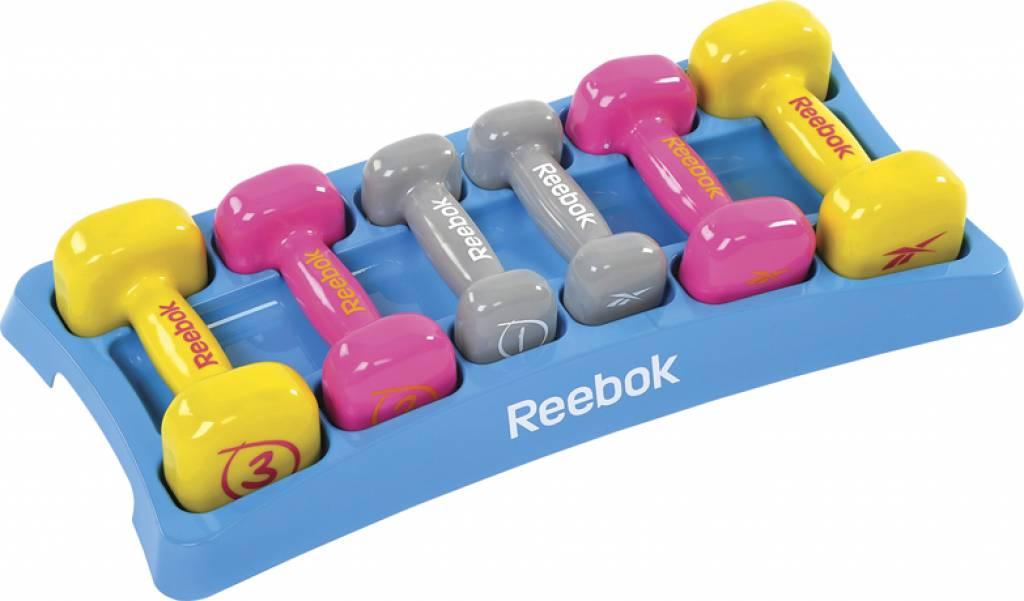Reebok color line dumbellset