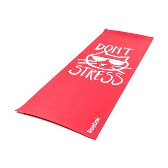 Reebok Yoga Mat Dubbelzijdig Don't Stress
