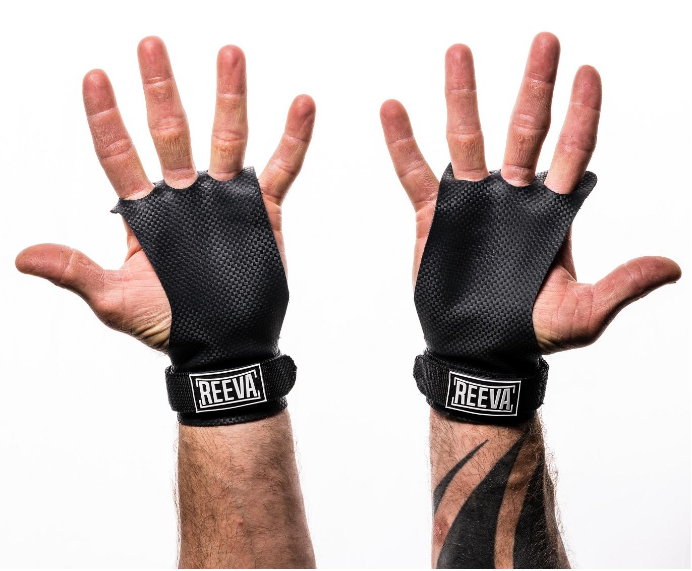 Reeva Carbon Grips - Crossfit Handschoenen - L