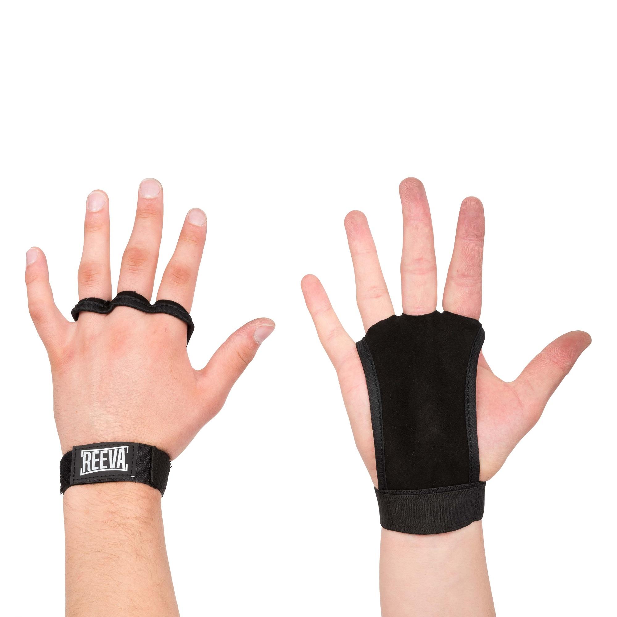 Reeva Kangaroo Grips - Crossfit Handschoenen - Short Strap - M