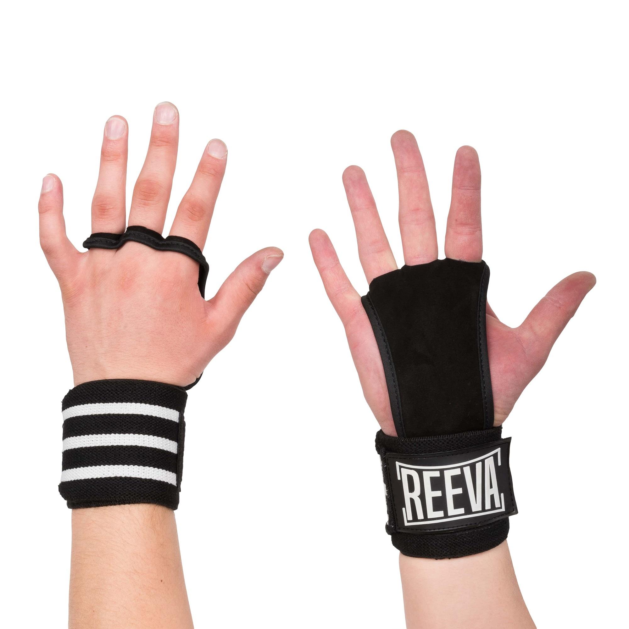 Reeva Kangaroo Grips - Crossfit Handschoenen - Wrist Wrap - L